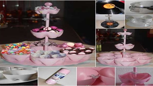 اصنعي حاملة الحلوى  من الزجاجات الفارغة 4rq5au