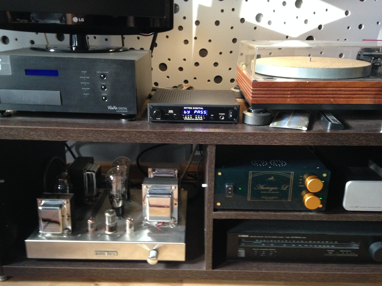 Mytek Digital Stereo 192 DSD-DAC Preamp BK 4s194x
