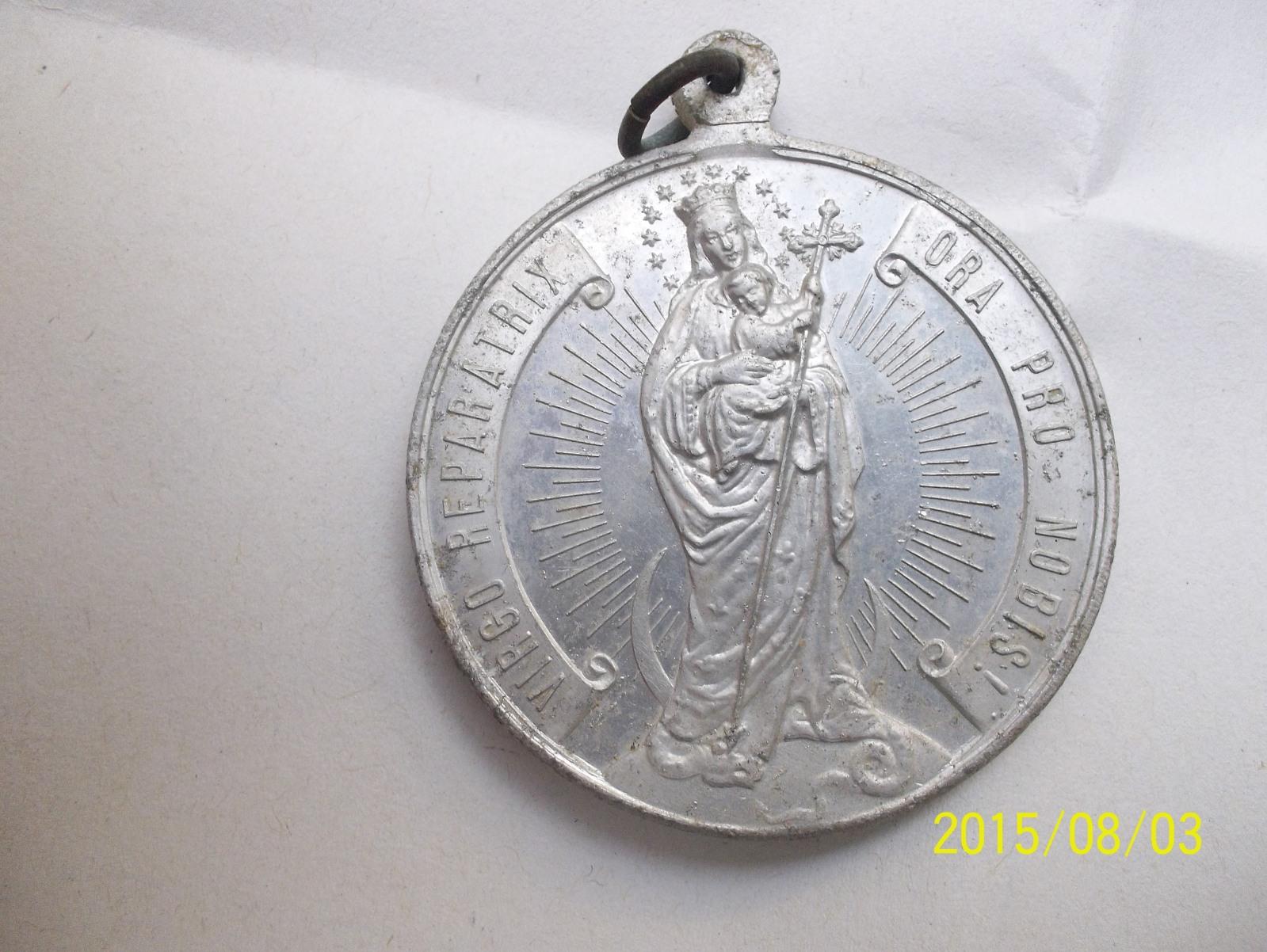 Virgen María Reparadora / SS. Sacramento 5vspox