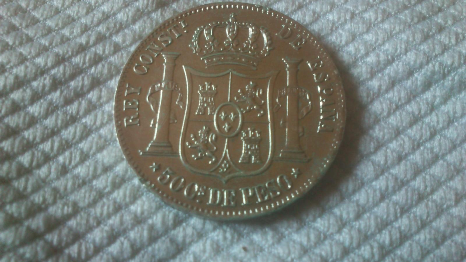 Monedas Españolas de las Filipinas 675jx5