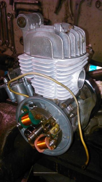 Reparación para restauración en Mobylette AV-88 (Rodamientos, retenes, cilindro...) 6h1du0