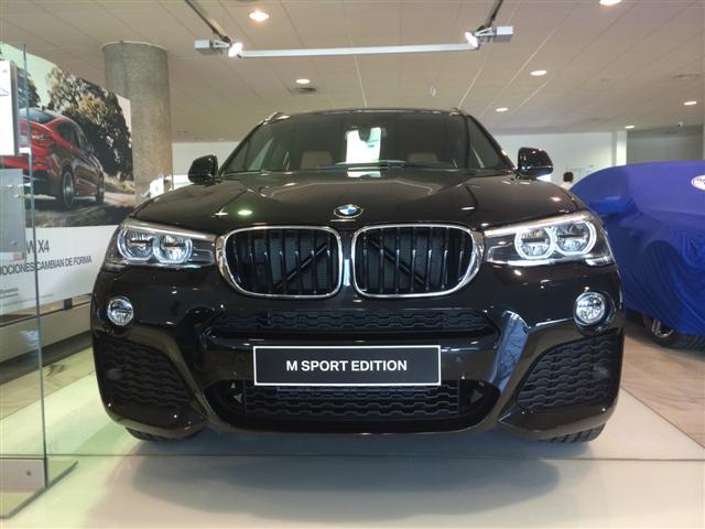 FOTOS: BMW X4 20d Negro Saphirschwarz Paquete M de EXPOSICIÓN en Concesionario BMW Marbella Automotor 6synu8