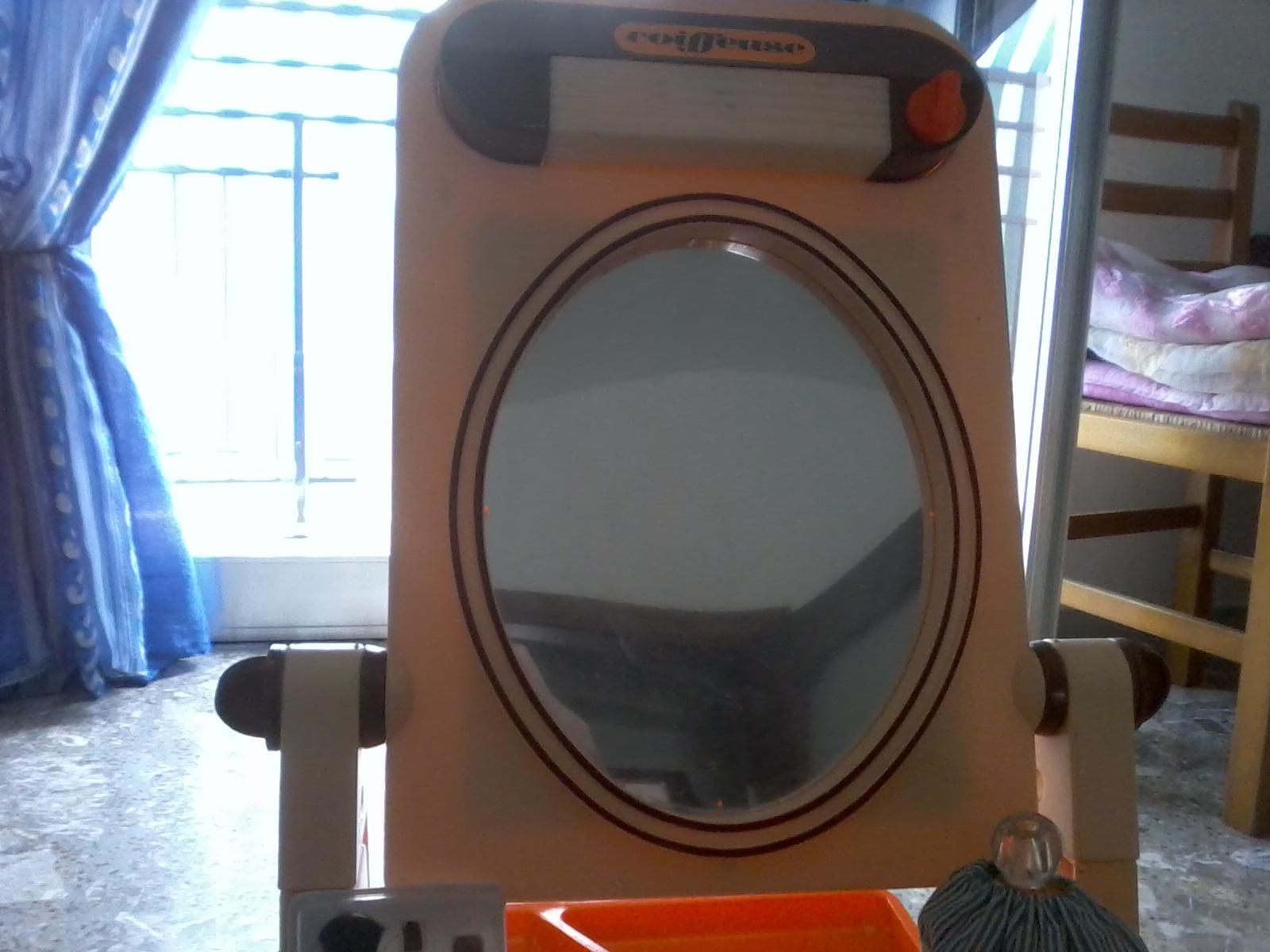 specchio magico della tv marca francese jouets berchet anni 70 90a9fn