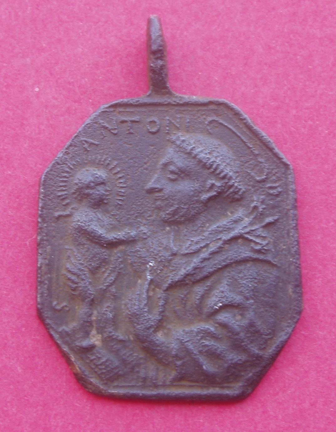 Medalla San Jerónimo y San Antonio 9ibs53