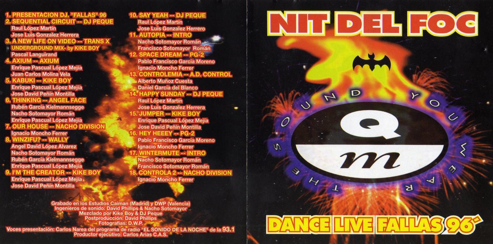NIT DEL FOC - 1996 - COMPILATION - 192KBPS - QUALITY MADRID 9kma7l