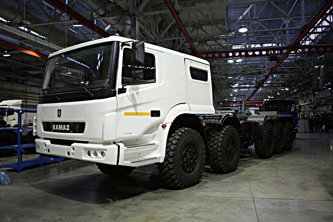 The Russian Military Automotive Fleet 9srvrm