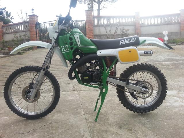 Mi nueva adquisición Rieju MR80 Verde A1nxgn