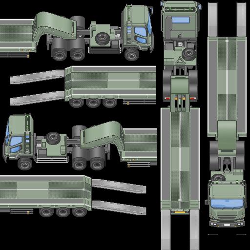 Tilesets de Guerra Moderna: Vehículos Terrestres A1sp4m