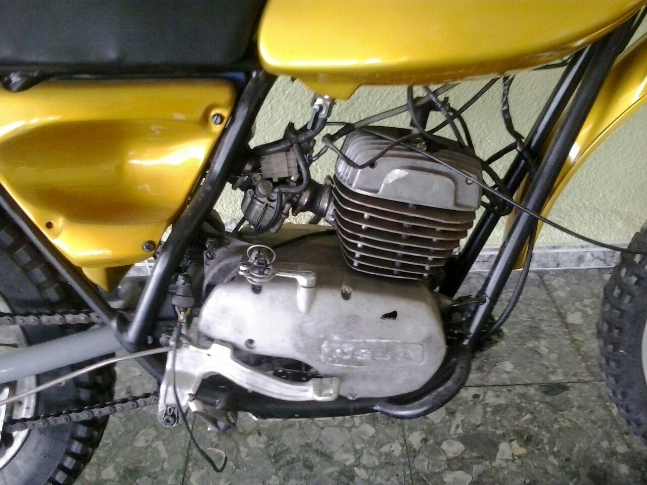 Restauración Ossa Super Pioneer 250 Aaafxh