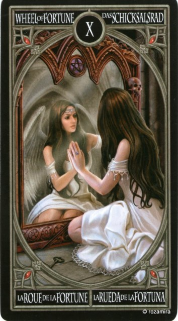 Готическое Таро Анны Стокс /Anne Stokes Gothic Tarot   (скан карт) Abqio8