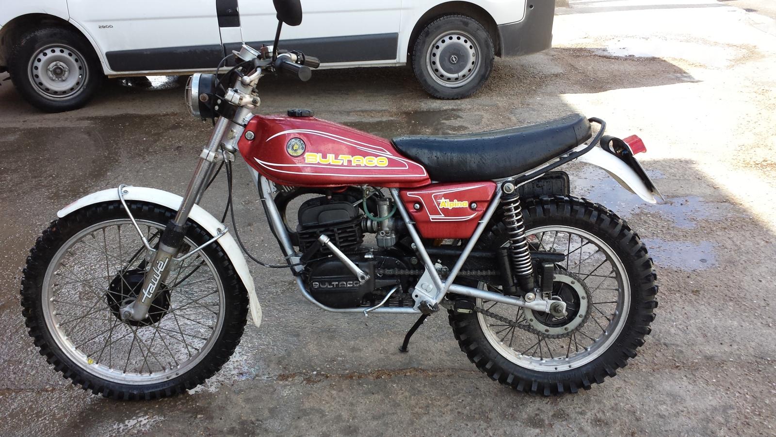 Os presento mi Bultaco Alpina Ac3pty