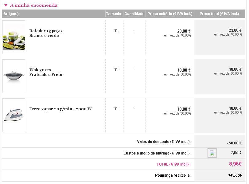 [Provado] ShowRoomPrive - Faz compras e ganha já 10 Euros em Saldo!  Ac8xoj