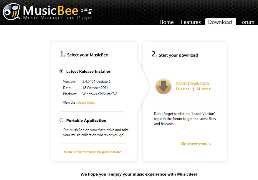 MusicBee: un excelente reproductor de audio para Windows, gratuito Df7vvc