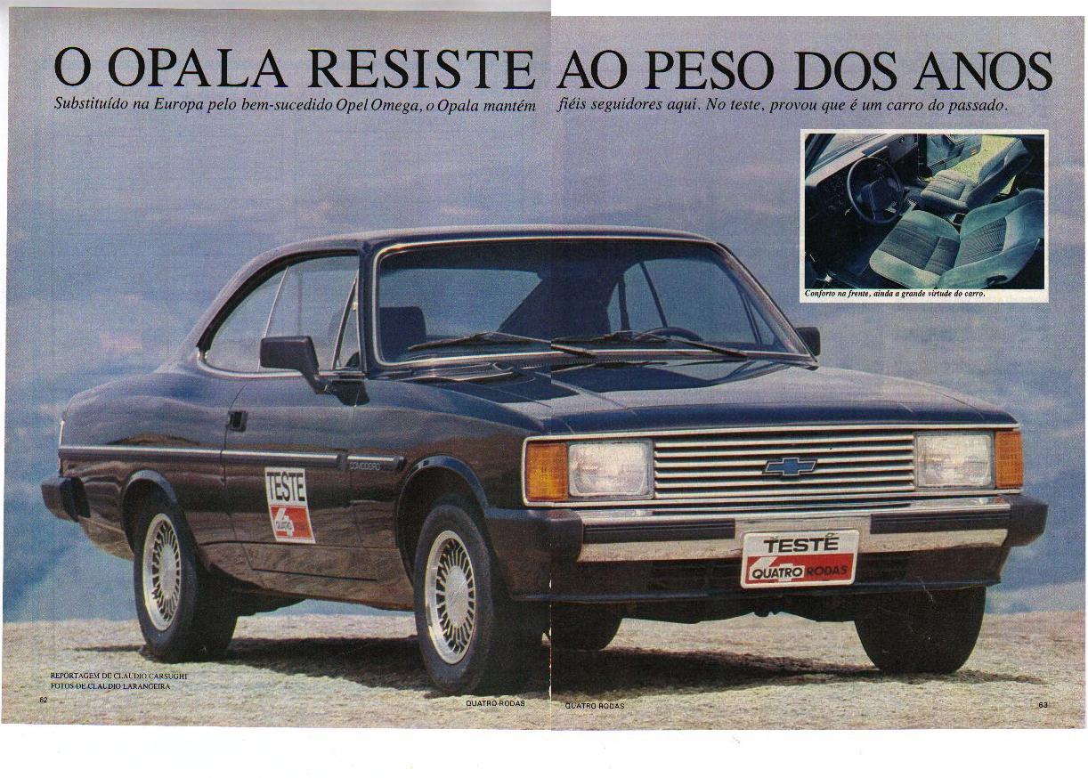 Turbo - Opala 84/85 Diplomata Cupe Verde 6cc TURBO Dqt62p