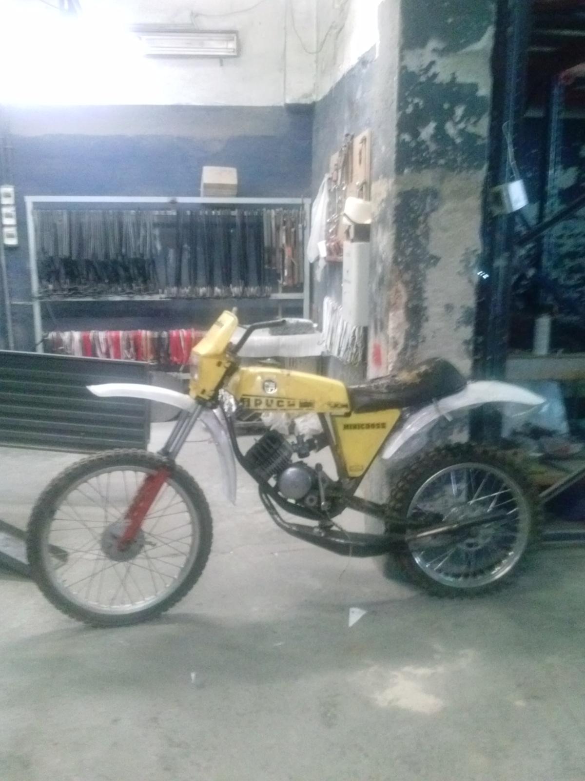 Puch Minicross Super con preparacion Cobra E8wrrt