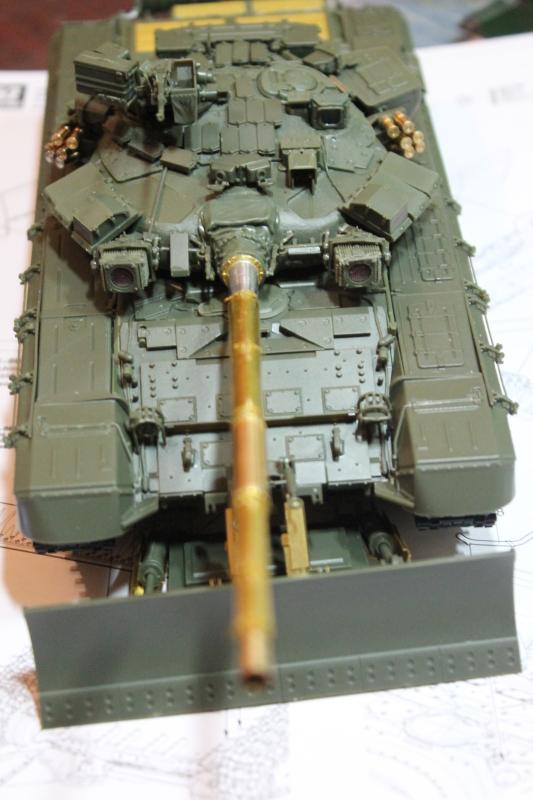 Т-90 с ТБС-86 (Менг 1/35) E9ak4x
