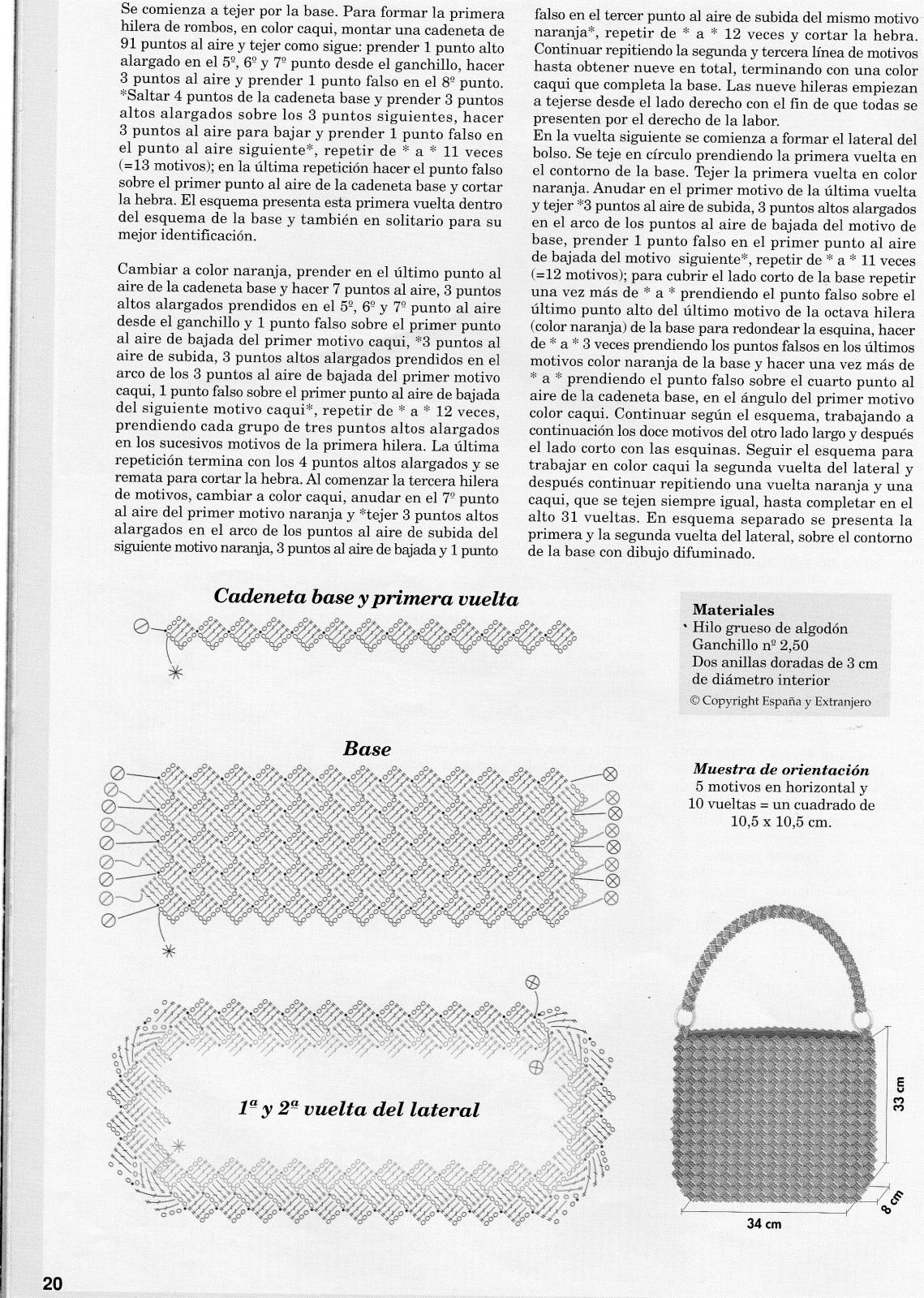patrones de bolsos Fvfhnk
