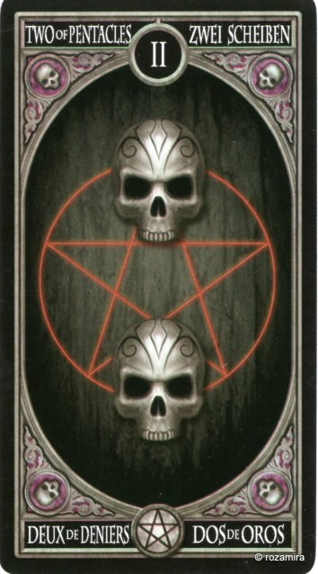 Готическое Таро Анны Стокс /Anne Stokes Gothic Tarot   (скан карт) I55h4w