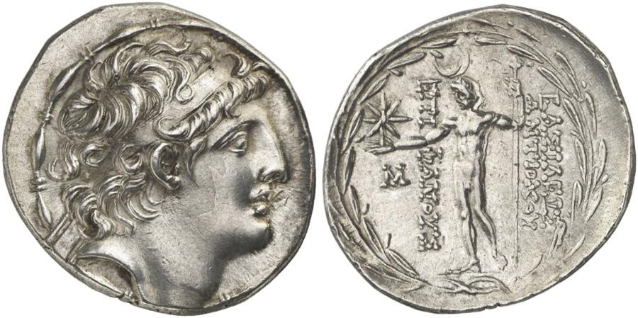 Tetradracma Antioco VIII - AKE Ptolemais  dedicada a Numismatico2013 Ivv32p