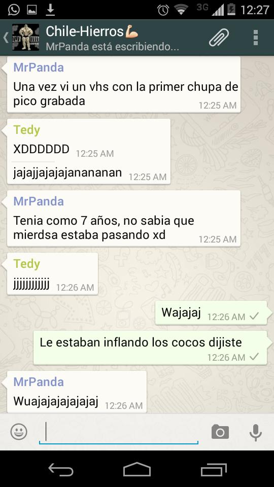 Grupo en WhatsApp Foro Chile-hierros Ke6grq