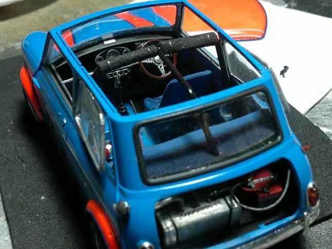"Mini Morris racing 1/24 o ""la tarea"" M92kiw"