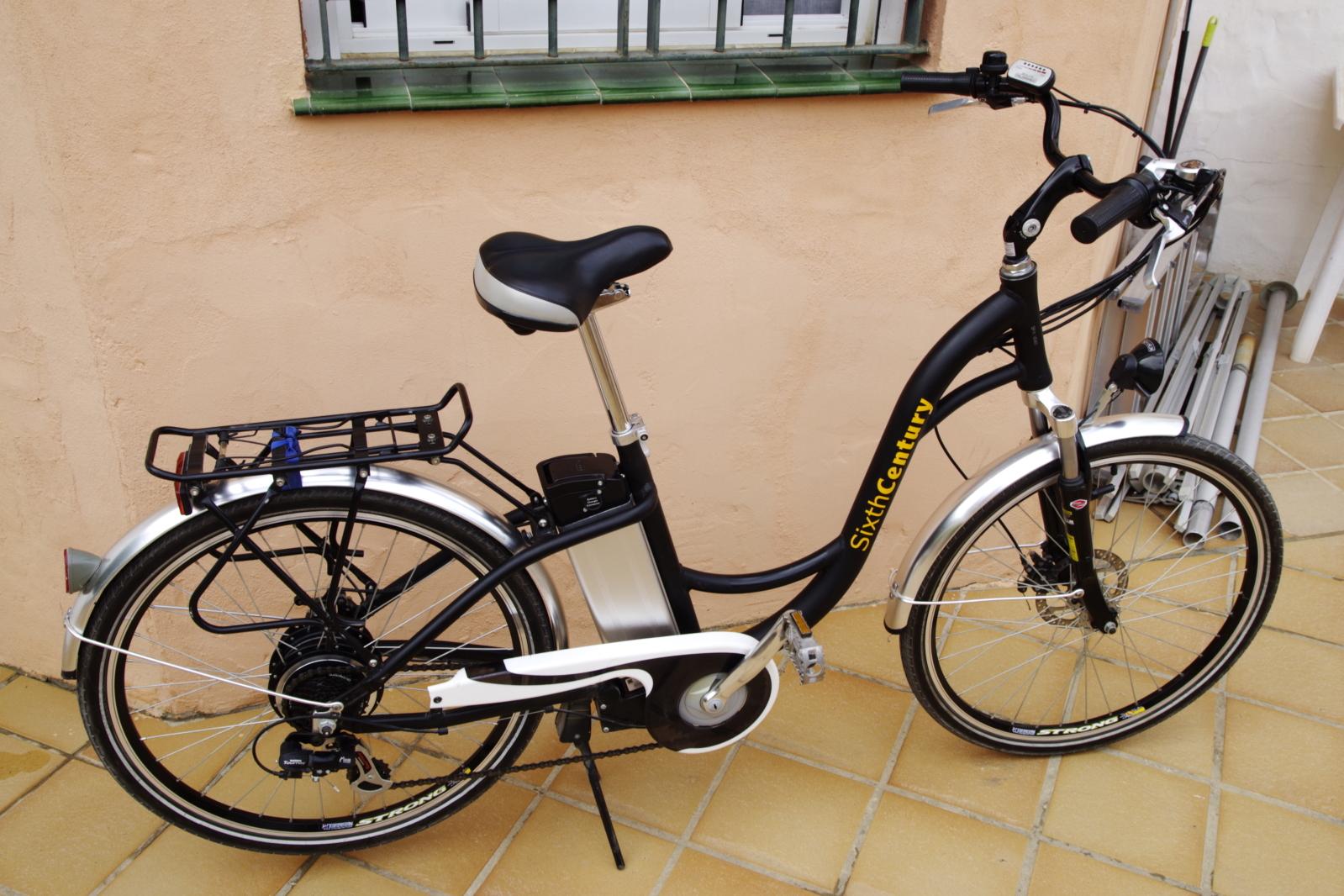 Vendida bicicleta Sixth Century Mk9i