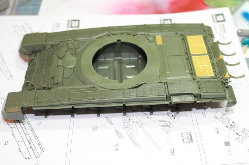 Т-90 с ТБС-86 (Менг 1/35) N48ppw