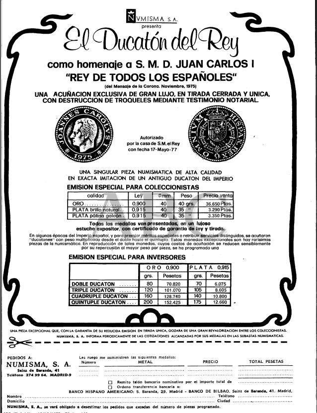 Monedas Conmemorativas de Juan Carlos I 1975 Neg4tf