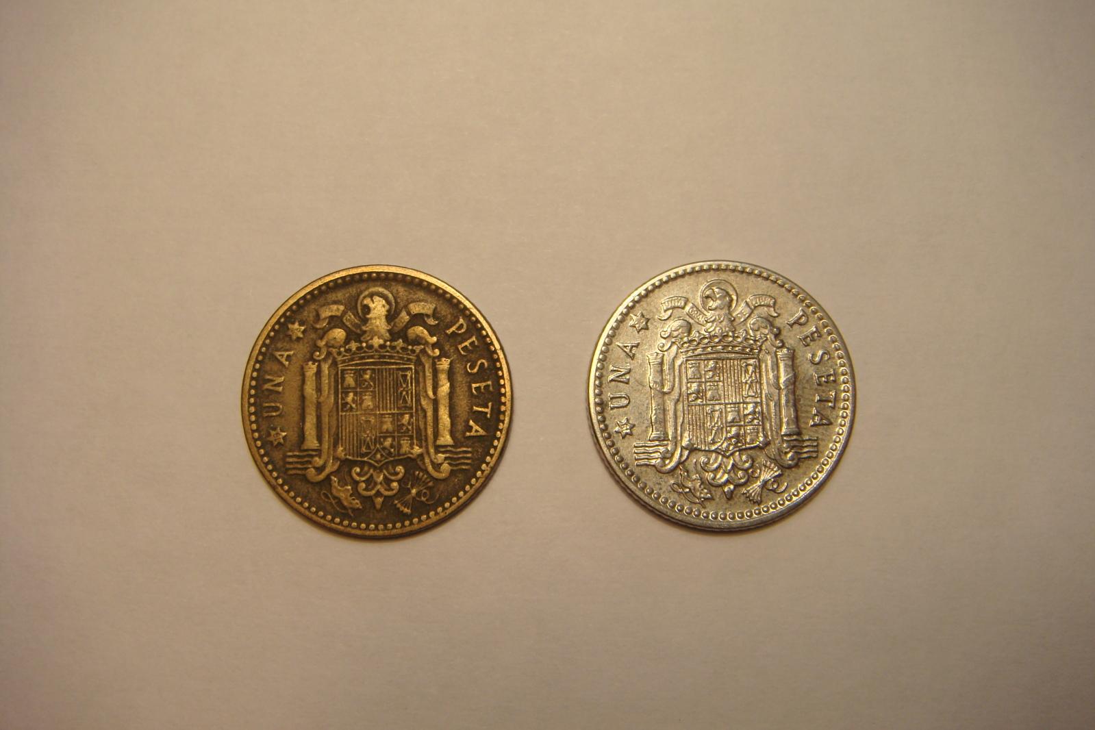 1 peseta de franco de 1953 de niquel estrellas 19-56 Nlszg3