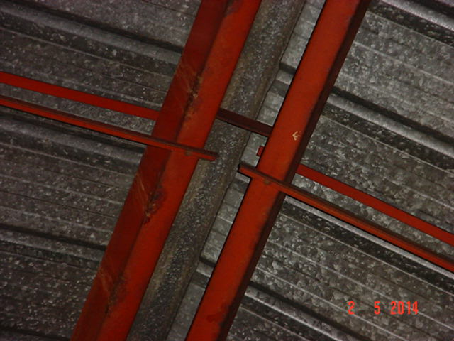 techo - Estructura de Perfiles C para techo de chapa No7gpi