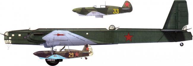 "ТБ-3 СПБ ""Звено"" 1/72 (ICM) Qovoyb"