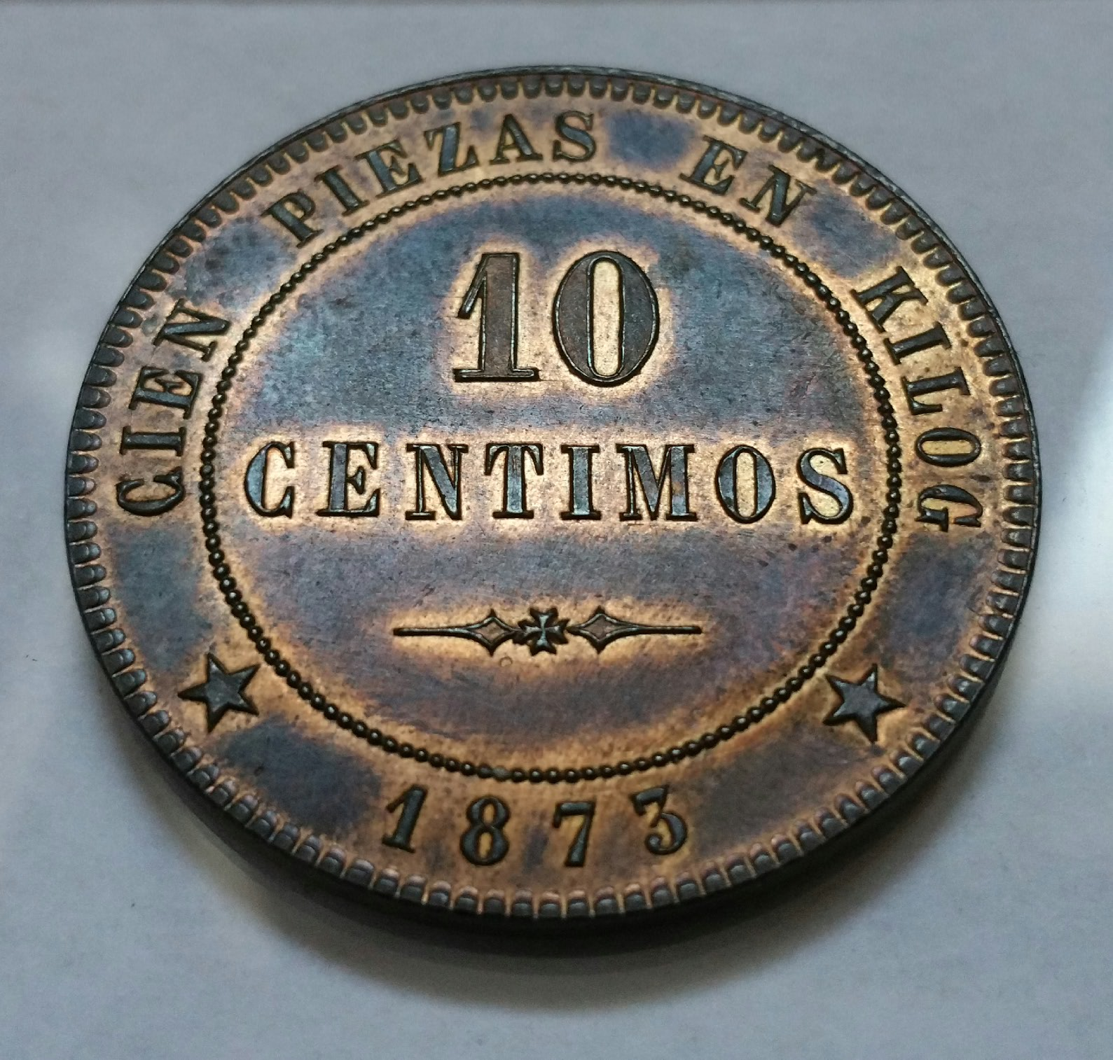 10 CÉNTIMOS 1873  ¿REPÚBLICA DE LOS VALLS DE ANDORRA? Rkvmme