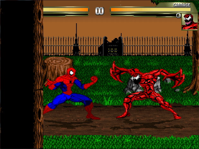 Spider-Man & Venom: Maximum Carnage Stages Rmjyib
