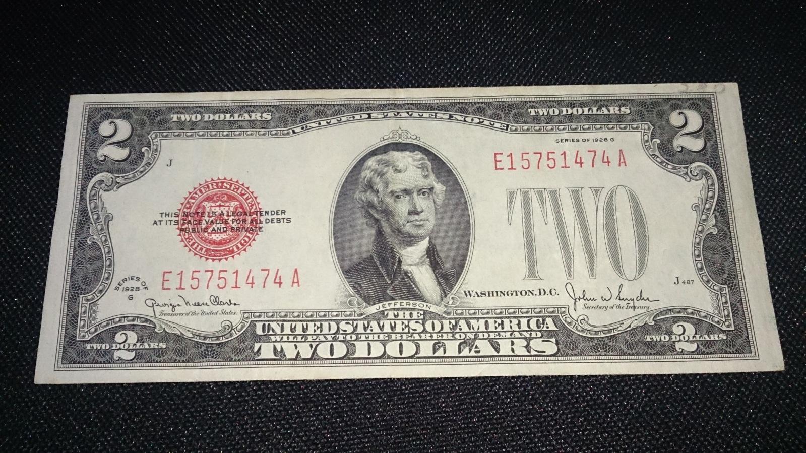 2 Dolares USA, 1928  S1nb7a