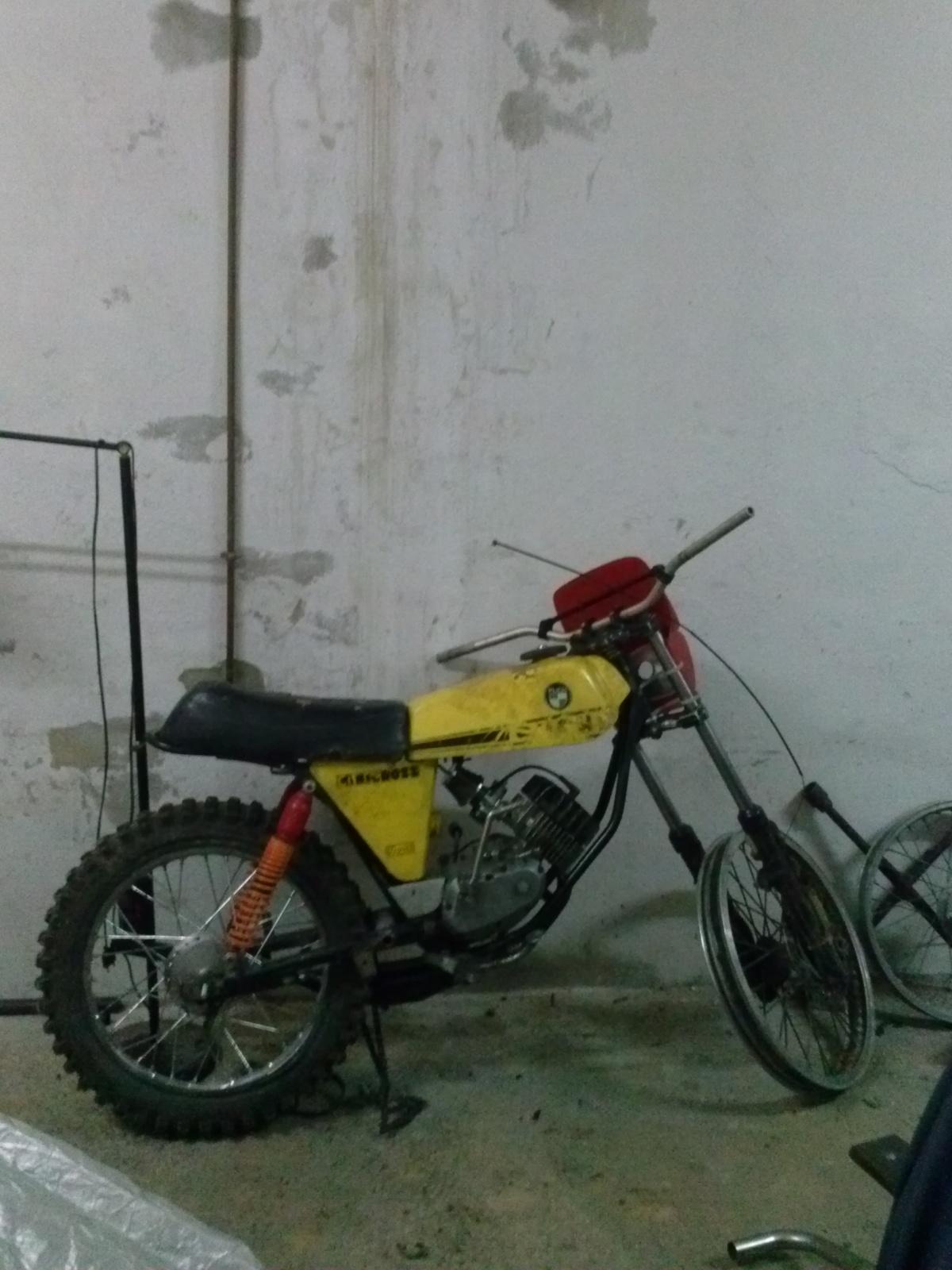 Puch Minicross Super con preparacion Cobra Sxlpig