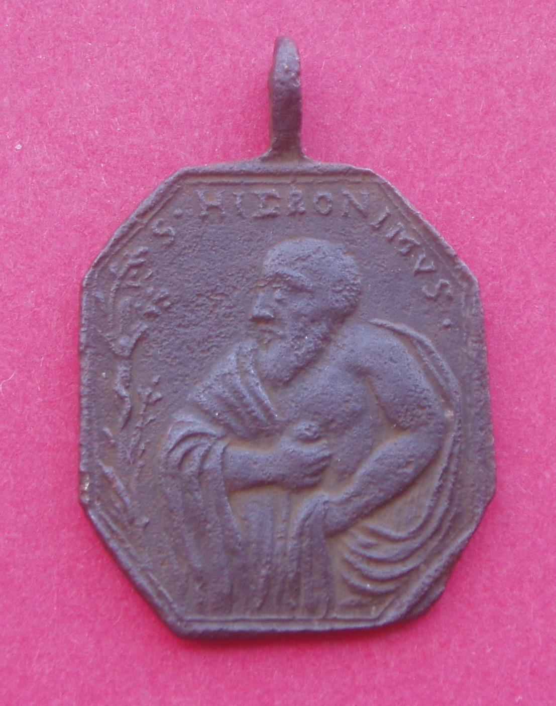 Medalla San Jerónimo y San Antonio Szy593