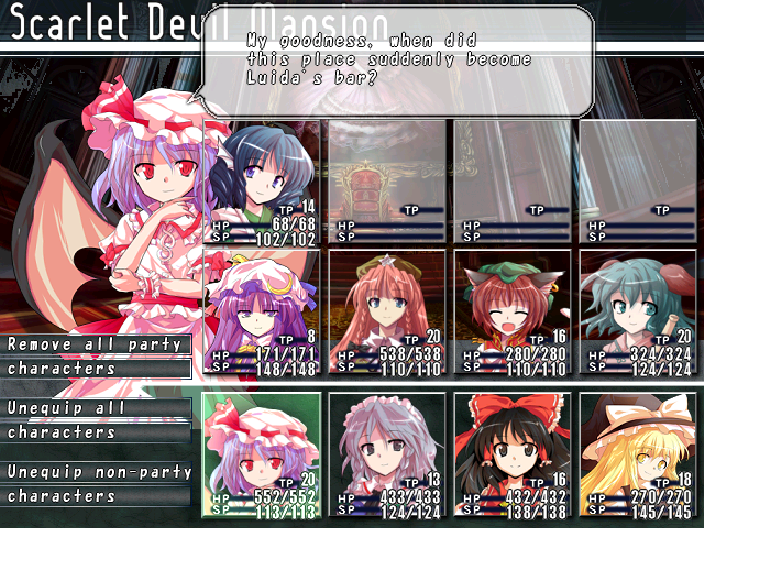 [Fan Game] Labyrinth of Touhou - Rebirth V43z2g