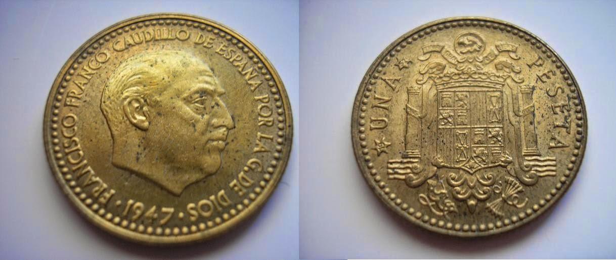 Las pesetas de Franco. Vghfzl