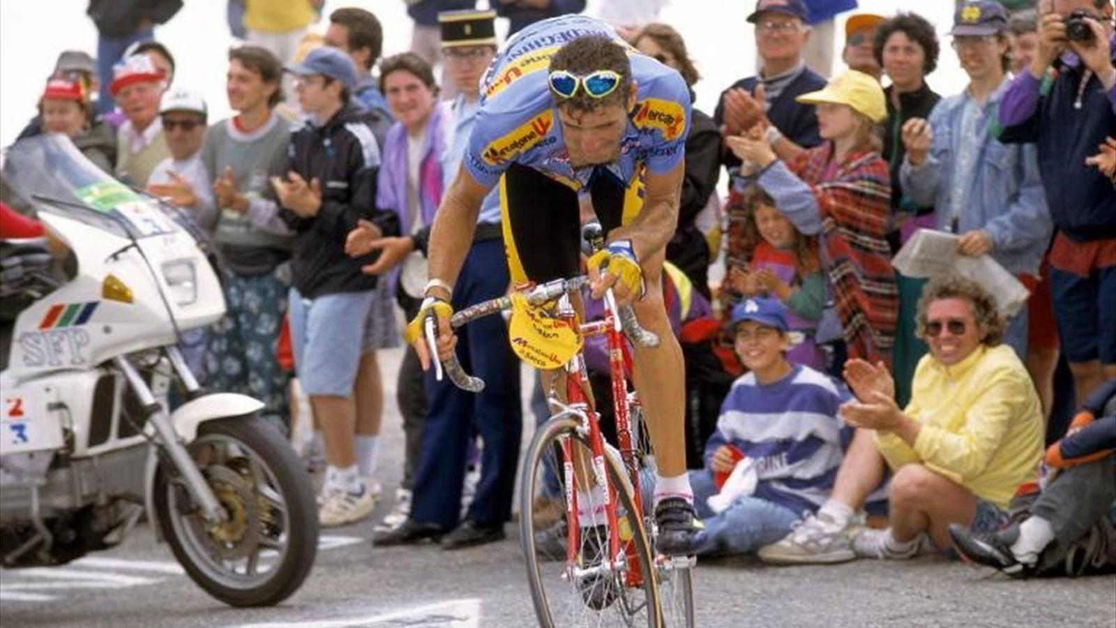 Eros Poli, el sprinter que venció al Ventoux Vymxoj