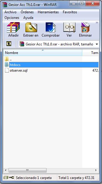 [Tutorial] Como instalar Gesior Acc Tfs 1.0 Con imagenes Paso a Paso Wcokfb