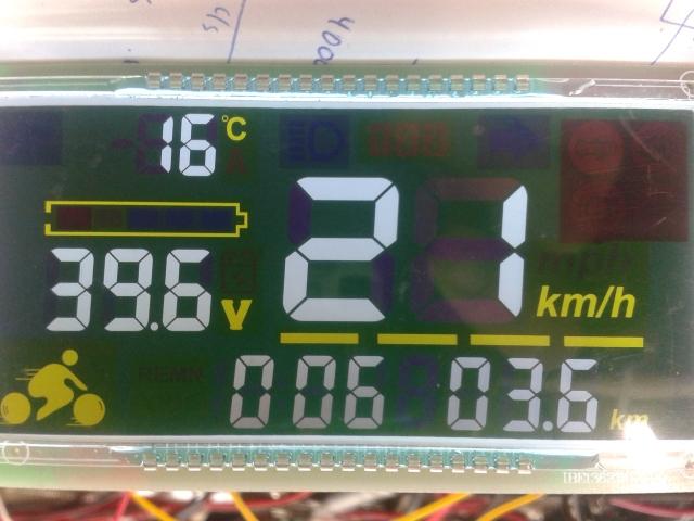 Velocímetro, multitester o speedometer Xd751i