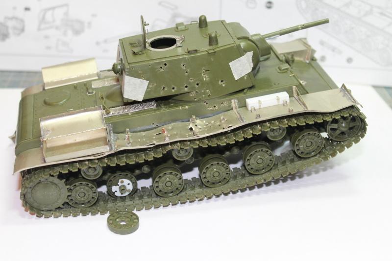 """КВ-1 """"27 ноября 1941 года г. Венев""""(Звезда 1/35) Zmxfty"""