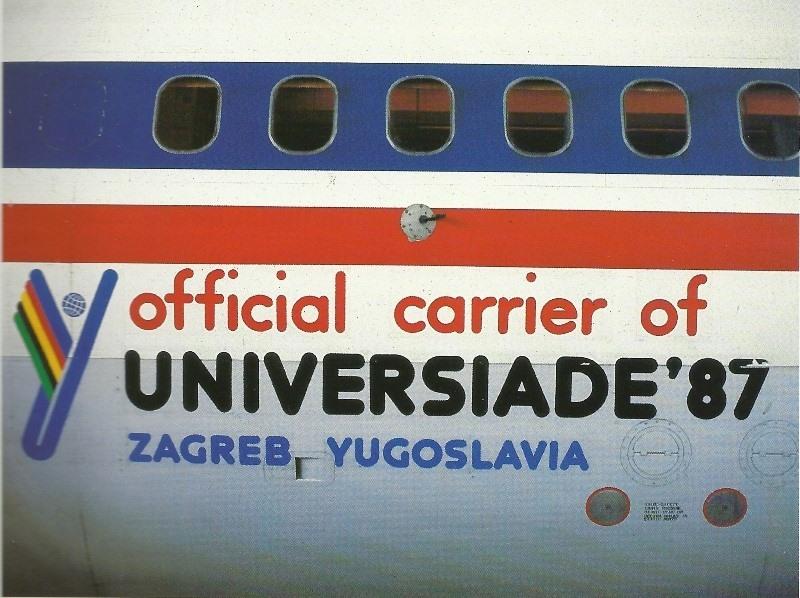 XIV. Ljetna univerzijada Zagreb 1987. 104nbyv
