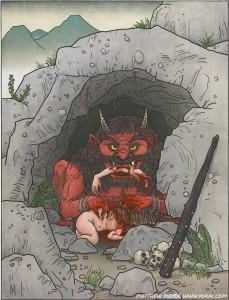 [VX/ACE]Chara de Monstruos de la  Mitología Japonesa 107np02