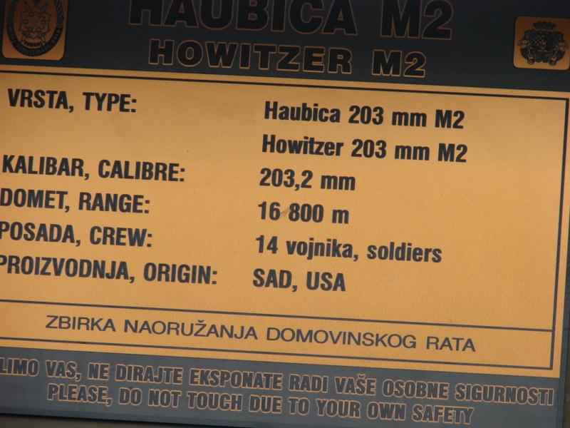 Haubica M-115 203 mm 10ck8pk