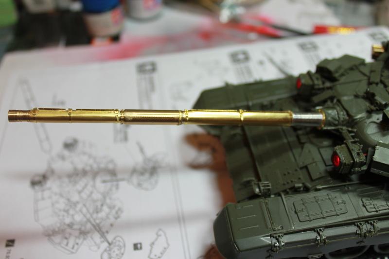 Т-90 с ТБС-86 (Менг 1/35) 10cri9s