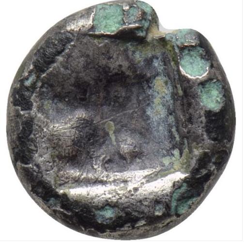 arcaica de Kizycos obolo 550-500 AC 10ne4vn