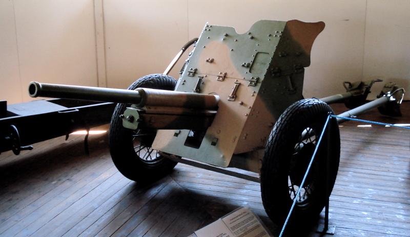 Гильза унитарного выстрела 45-мм танковой пушки образца 1932/38 годов (20-К) 110buok