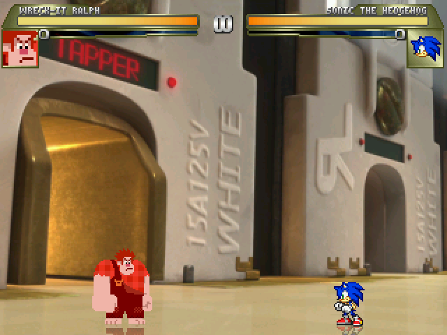 Wreck-It Ralph: Game Central Station Stage 14e78t2