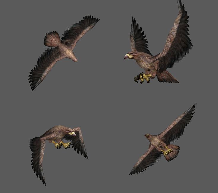 Gwaihir (Àguila Gigante) - LOTR 14mrxom